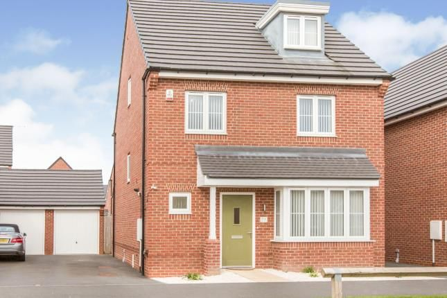 Thumbnail Detached house for sale in Higher Croft Drive, Crewe, Cheshire