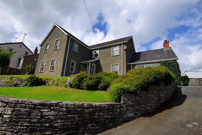 Thumbnail Detached house for sale in Dolbadau Road, Cilgerran, Cardigan