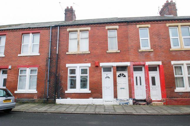Main Exterior of Collingwood Street, South Shields NE33