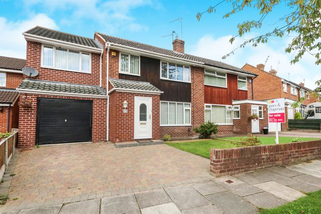 Thumbnail Semi-detached house for sale in Princes Avenue, Eastham, Wirral