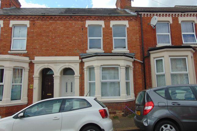 Thumbnail Terraced house to rent in Edinburgh Road, Northampton