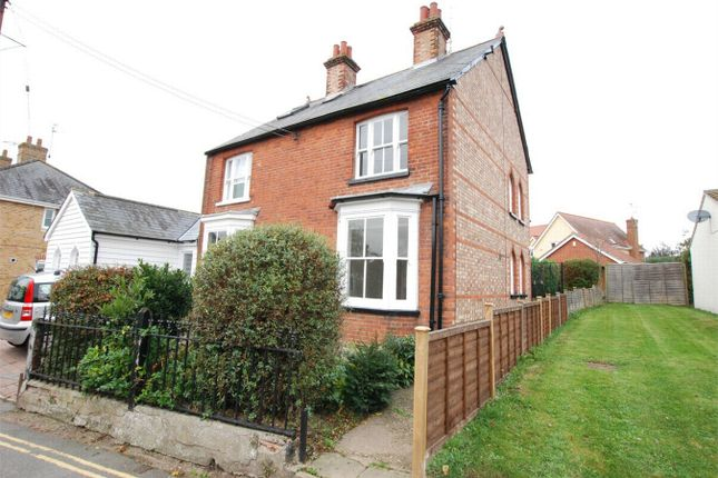 Thumbnail Semi-detached house to rent in Queen Street, Coggeshall, Essex