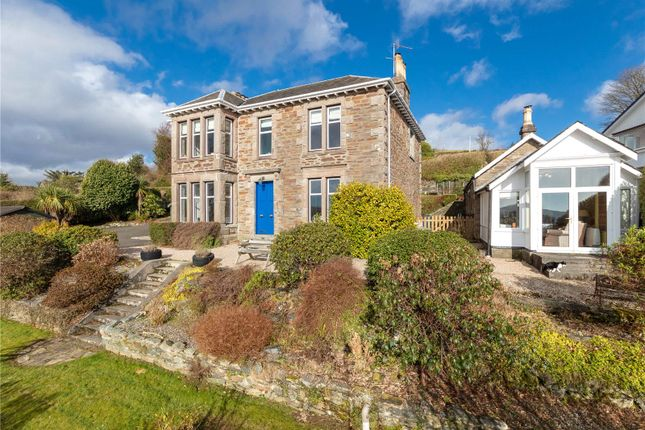 Thumbnail Detached house for sale in Oakdene House, Argyll Road, Kilcreggan, Helensburgh