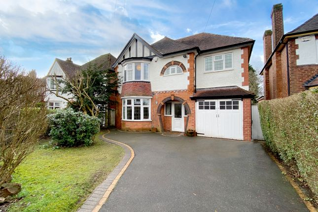 Thumbnail Detached house for sale in Thornby Avenue, Solihull