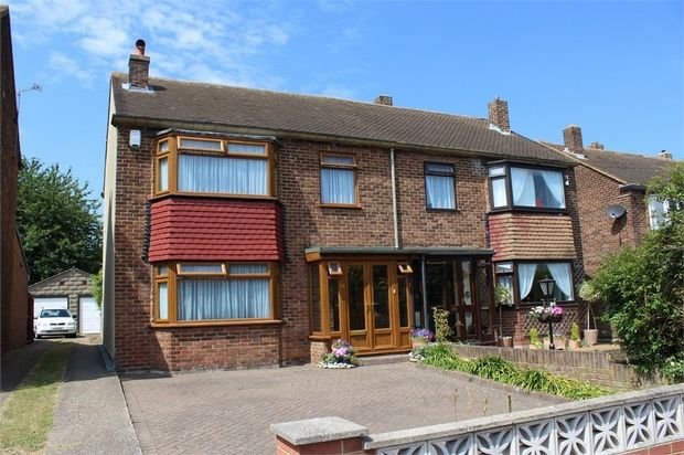 Thumbnail Semi-detached house for sale in Darland Avenue, Gillingham, Kent