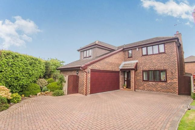 Thumbnail Detached house for sale in Hoylake Close, Fulwood, Preston