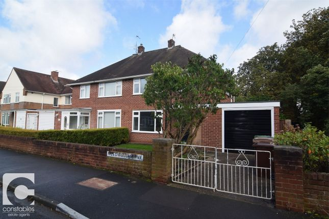 Thumbnail Semi-detached house to rent in Needwood Drive, Bebington, Wirral, Merseyside