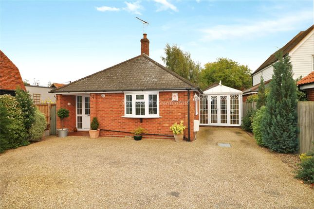 Thumbnail Detached bungalow for sale in The Heath, Dedham, Colchester, Essex