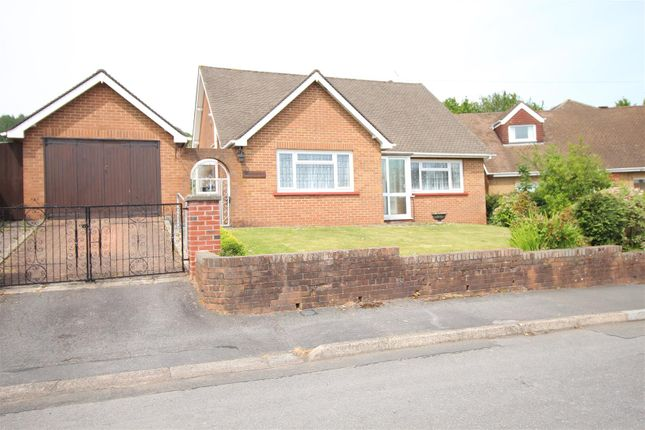 Thumbnail Detached bungalow for sale in Sunlea Crescent, New Inn, Pontypool