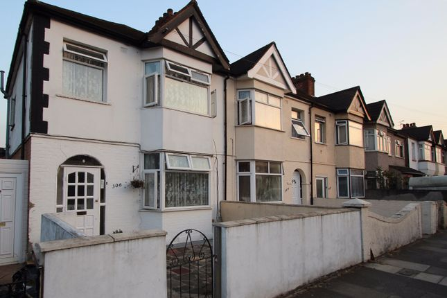 Thumbnail End terrace house to rent in Kingston Road, Ilford