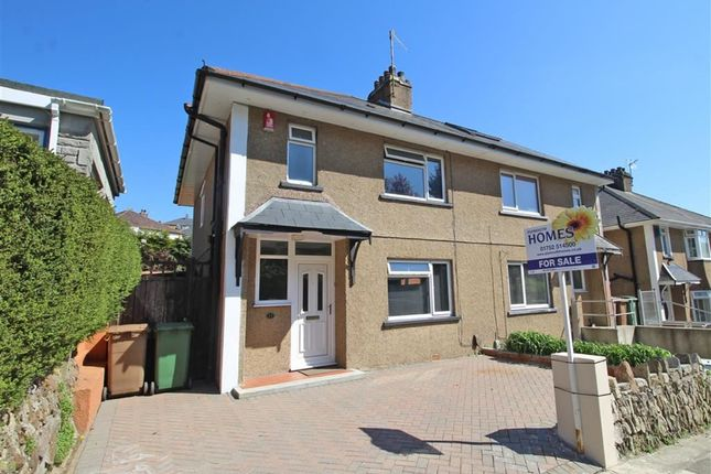 Thumbnail Semi-detached house for sale in Chapel Way, Lower Compton, Plymouth