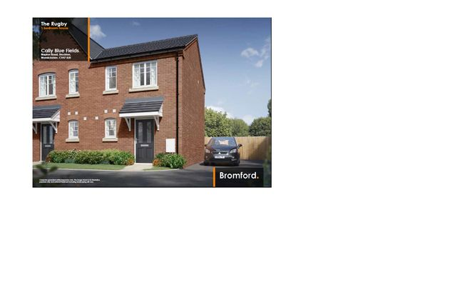 Thumbnail Semi-detached house for sale in Weavers Way, Stockton, Southam
