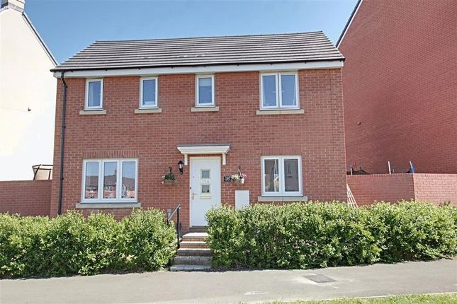 Thumbnail Detached house to rent in Mascroft Road, Trowbridge