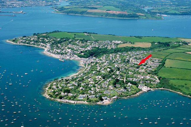 Aerial Location of Penruan Lane, St. Mawes, Truro TR2