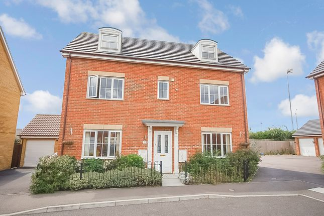 Thumbnail Detached house for sale in Stanford Road, Thetford, Norfolk