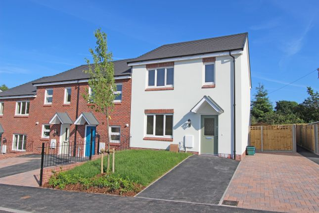 3 bed end terrace house for sale in Plot 10, Bowling Green View, Cullompton, Devon