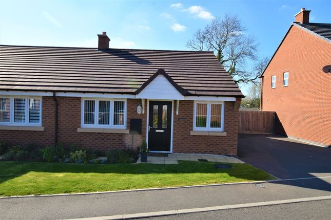 Thumbnail Bungalow for sale in Clun Forest Way, Honeybourne, Evesham