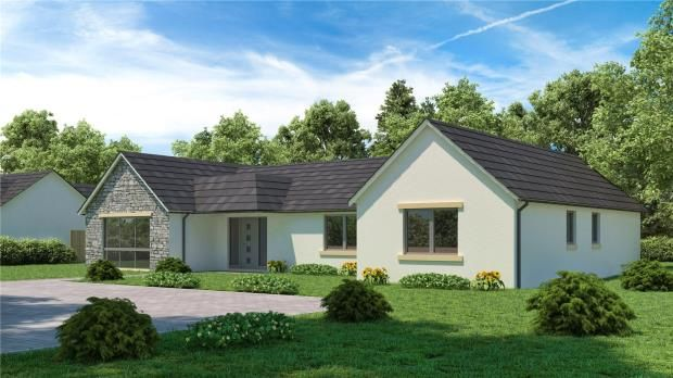 Thumbnail Detached bungalow for sale in Viewfield House, Brucefield Road, Blairgowrie, Perth And Kinross