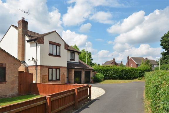 Thumbnail Detached house for sale in Marguerite Road, Tiverton