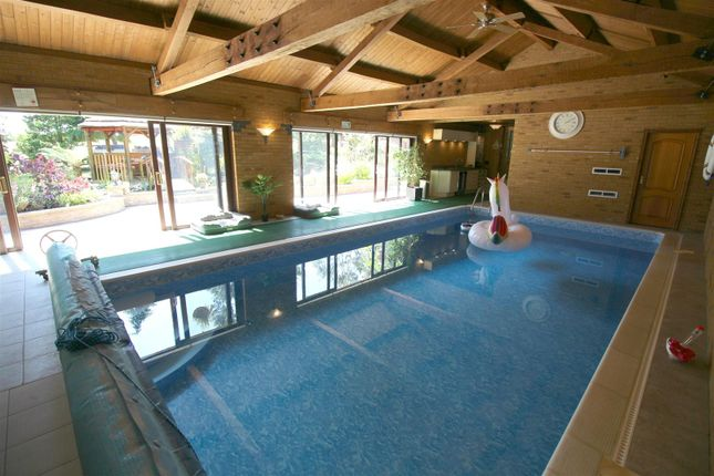 Thumbnail Detached house for sale in Sharnford Road, Aston Flamville, Hinckley, Leicestershire