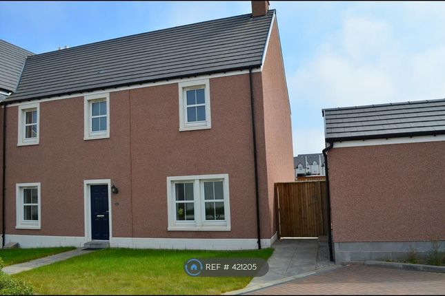 Thumbnail Semi-detached house to rent in Wellington Gardens, Aberdeen