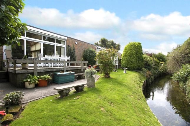 Thumbnail Bungalow for sale in Ferring Lane, Ferring, Worthing, West Sussex