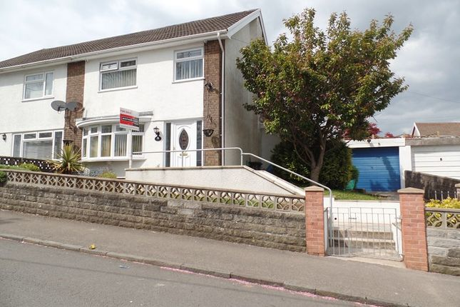 Thumbnail Semi-detached house for sale in Nibloe Terrace, Penydarren, Merthyr Tydfil
