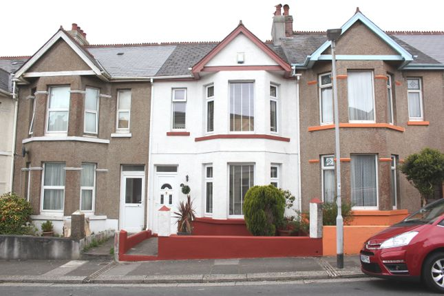 Thumbnail Terraced house for sale in Stroud Park Road, Peverell, Plymouth