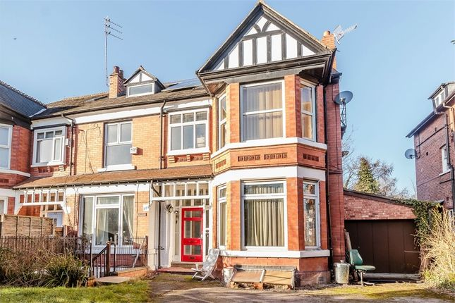 Thumbnail Semi-detached house for sale in Burton Road, West Didsbury, Didsbury, Manchester