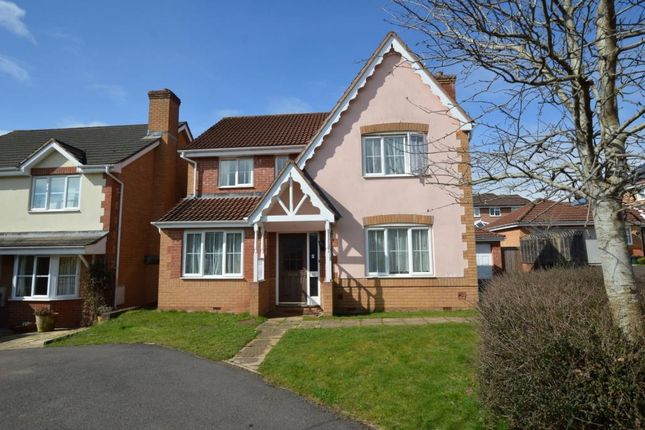 Thumbnail Detached house for sale in Nordens Meadow, Wiveliscombe, Taunton, Somerset