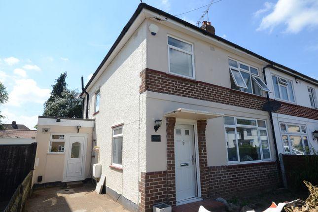 Thumbnail Semi-detached house to rent in Blumfield Crescent, Burnham, Slough