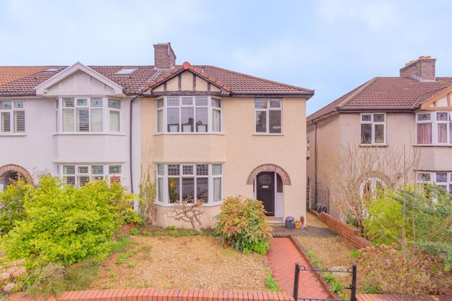 Thumbnail End terrace house for sale in Cranbrook Road, Redland, Bristol