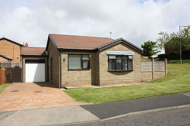 Thumbnail Detached bungalow for sale in Kendal Close, Peterlee, Durham