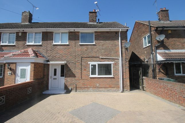 Thumbnail End terrace house for sale in Burnham Grove, Scawthorpe, Doncaster