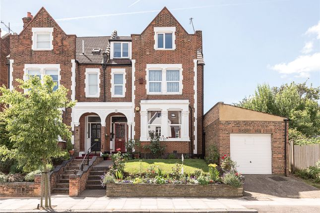 Thumbnail Semi-detached house for sale in Onslow Gardens, Highgate Borders, Muswell Hill, London
