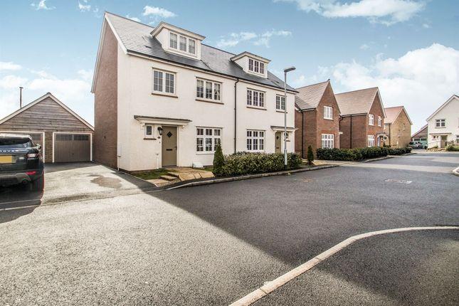 Thumbnail Semi-detached house for sale in Schofield Close, Bathpool, Taunton