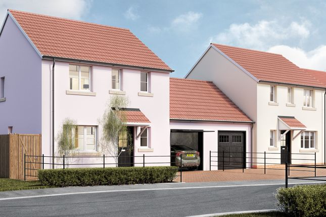 Thumbnail 3 bed link-detached house for sale in West Road, Lympsham