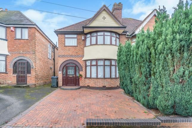 Thumbnail Semi-detached house for sale in Glaisdale Road, Hall Green, Birmingham, West Midlands
