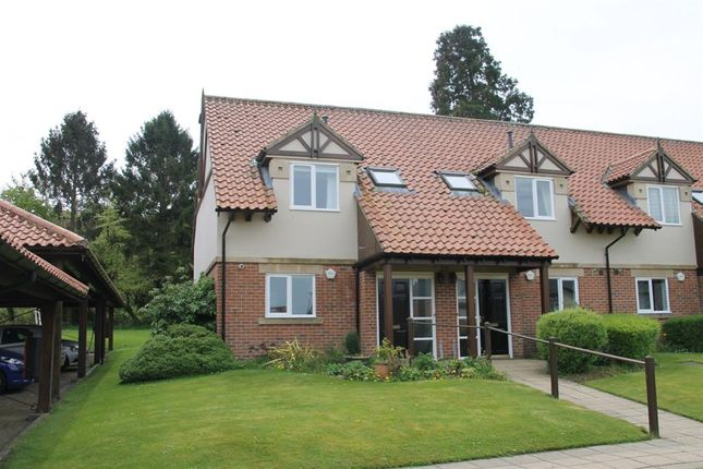 Thumbnail Town house for sale in Garden Court, Hollins Hall, Killinghall, Harrogate
