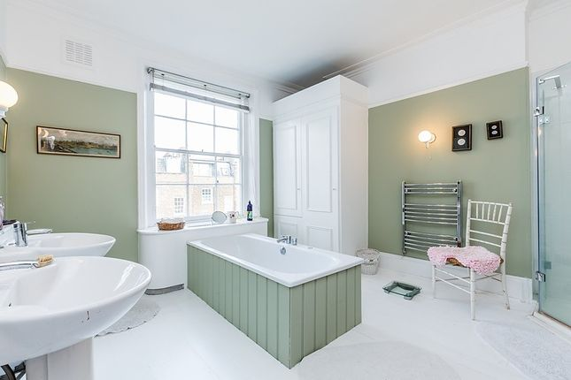 Master Bathroom of Chalcot Square, London NW1