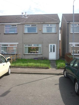 Thumbnail Terraced house to rent in Ava Crescent, Belfast