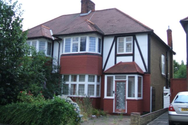 Thumbnail Semi-detached house to rent in Wynchgate, Southgate