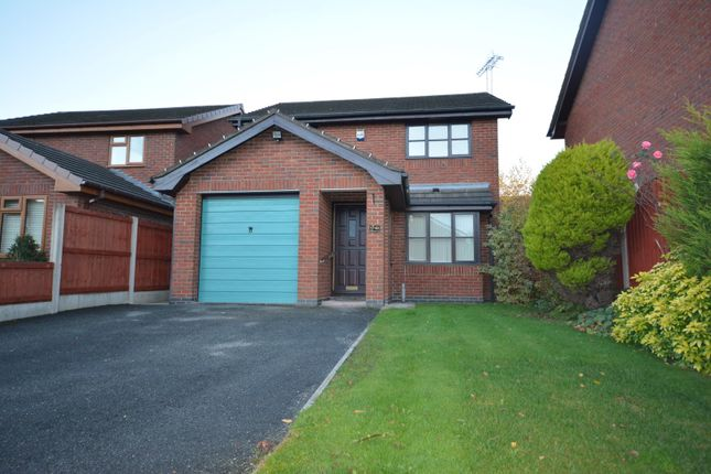 Thumbnail Detached house to rent in Sandhurst Avenue, Crewe