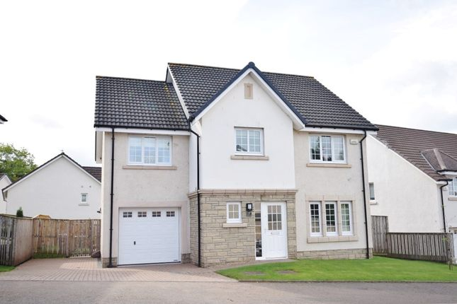 Thumbnail Detached house for sale in Heron View, Motherwell
