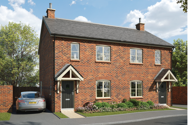 Thumbnail Semi-detached house for sale in The Cherry, Estone Grange, Chapel Drive, Aston Clinton, Buckinghamshire