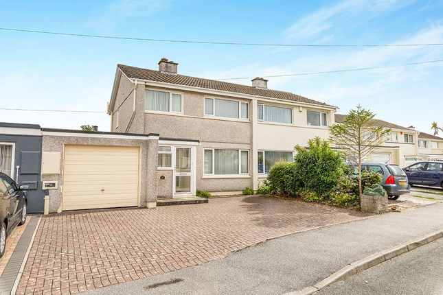 Thumbnail Semi-detached house for sale in Bosmeor Park, Redruth