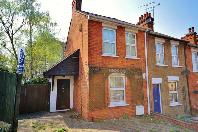 Thumbnail End terrace house for sale in Weald Road, Brentwood