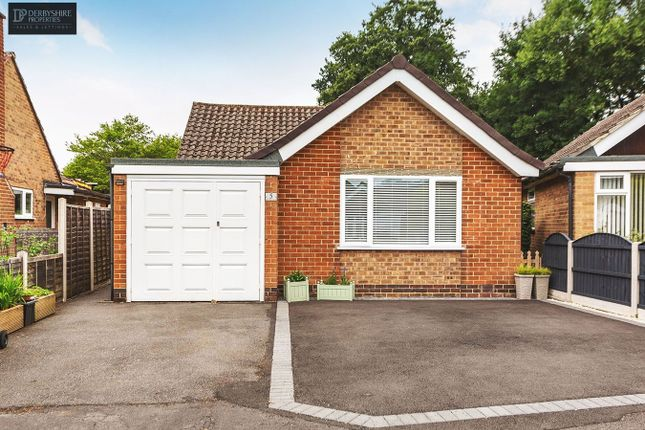 Thumbnail Detached bungalow for sale in Old Mill Close, Duffield, Belper