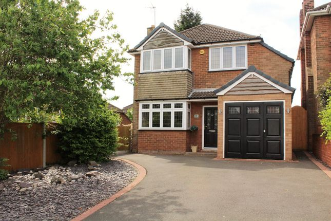 Thumbnail Detached house for sale in The Knoll, Kingswinford