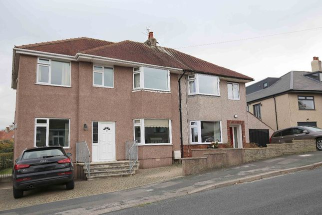 Thumbnail Semi-detached house for sale in Greenwood Avenue, Bolton Le Sands, Carnforth